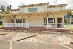 Front exterior of 4 beds, 2 baths house in North Kohala