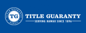 "Logo for Title Guaranty, ""Serving Hawaii Since 1896"""
