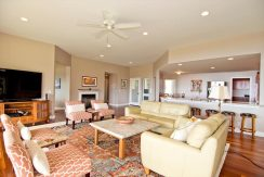 Living room of 55-822 Keahipoe Pl in North Kohala Big Island on behalf of Algood Hawaii, LLC